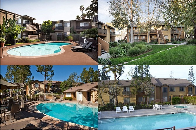 Apartment complexes refinanced Photos courtesy of Marcus & Millichap