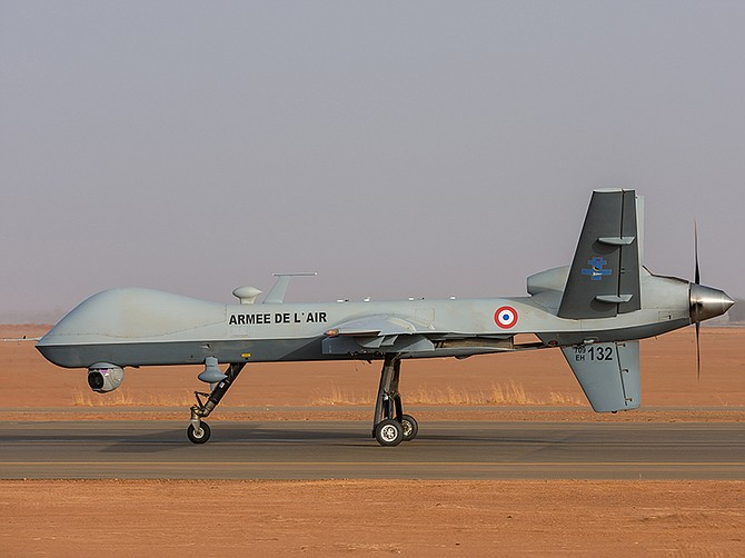 Photo courtesy of Malaury Buis/Armée de l'air/Défense and General Atomics Aeronautical Systems Inc.