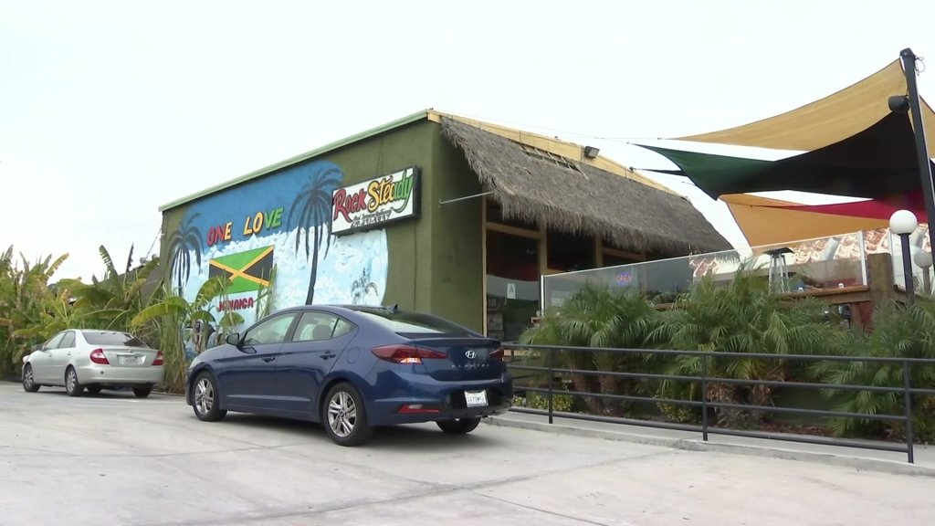 Rock Steady Real Jamaican Restaurant in Grant Hill.