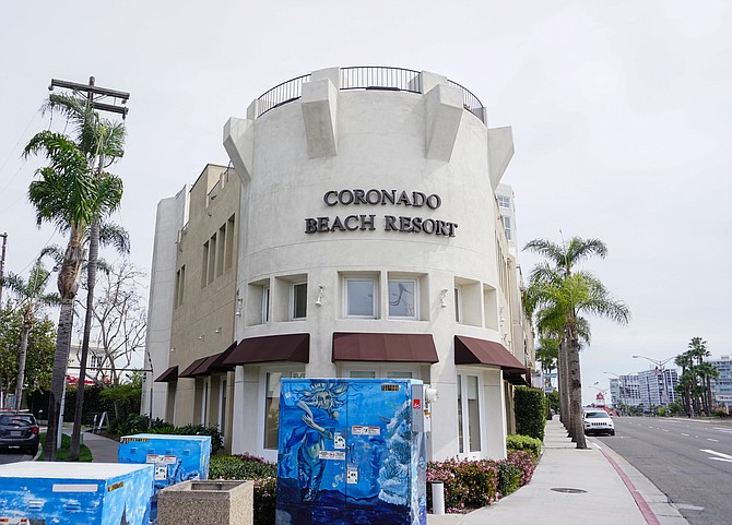 The Coronado Beach Resort is among the property up for sale at a public auction Photo courtesy of the San Diego County Treasurer-Tax Collector