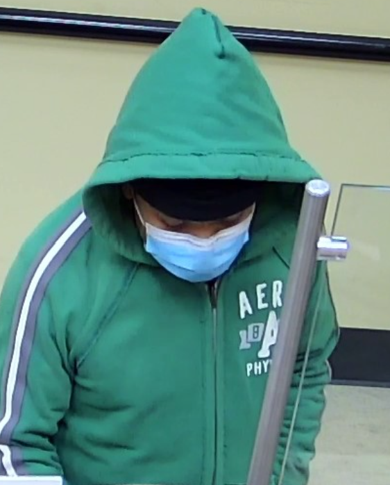 a suspected bank robber