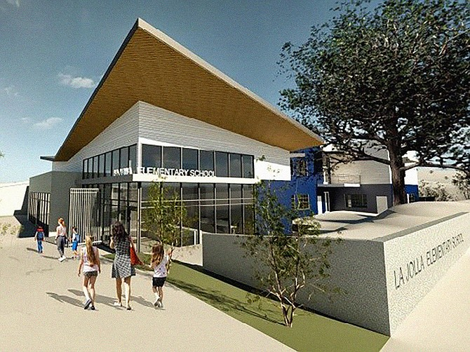 La Jolla Elementary School is among two schools being renovated by C.W. Driver Companies. Rendering courtesy of C.W. Driver Companies.