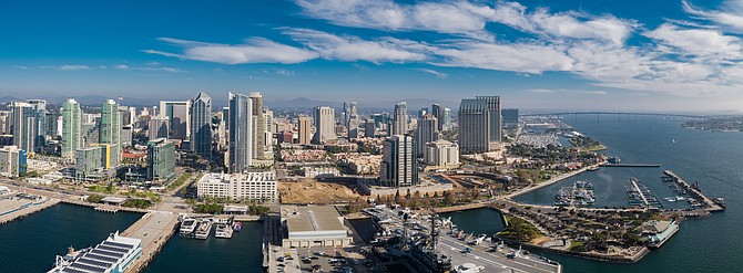 World Trade Center San Diego, the organization dedicated to growing international trade for the region, has launched a strategic plan for recovery and resilience. Photo Courtesy of the Port of San Diego.