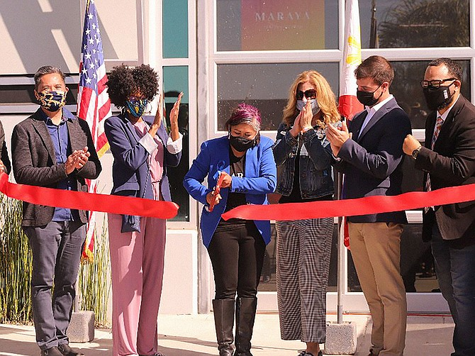 This past February, Anjanette Maraya-Ramey had a grand re-opening ceremony at the Chula Vista studio. Photo Courtesy of Anjanette Maraya-Ramey, Photo by Beto Soto.